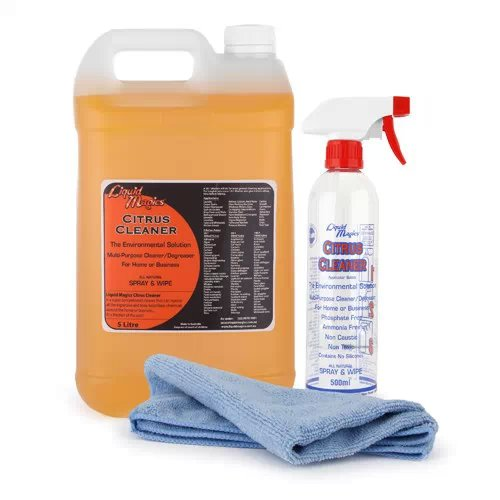 Liquid Magics Citrus Cleaner Concentrate 5 Litre Kit